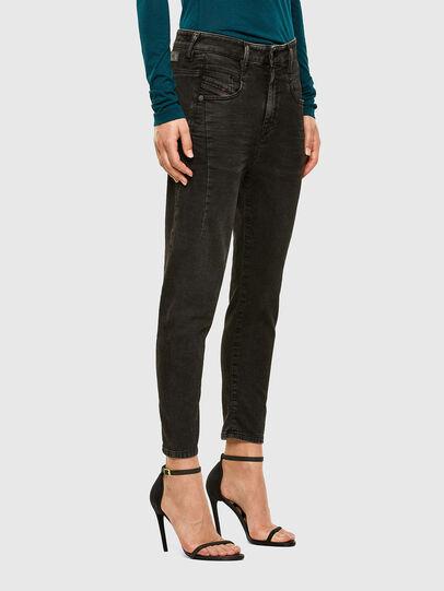 Diesel - Fayza JoggJeans 009HM, Nero/Grigio scuro - Jeans - Image 5