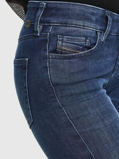Diesel - Slandy 0890K, Blu Scuro - Jeans - Image 3