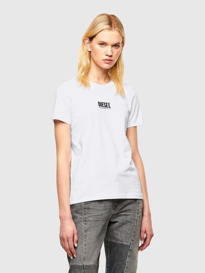 Diesel - T-SILY-SMALLOGO, Bianco - T-Shirts - Image 1
