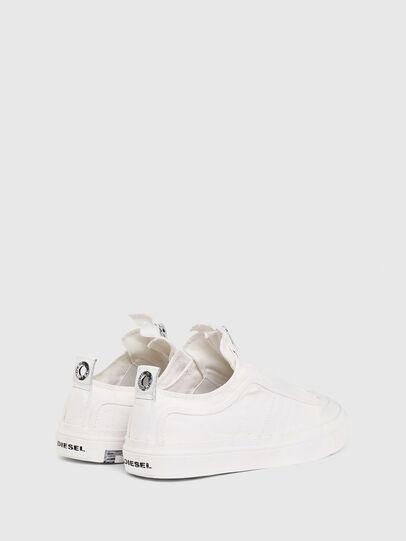 Diesel - S-ASTICO LOW ZIP SP, Bianco - Sneakers - Image 3