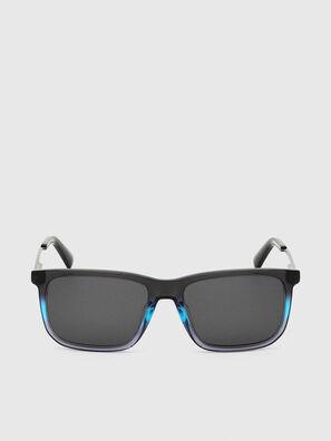DL0309, Nero/Blu - Occhiali da sole