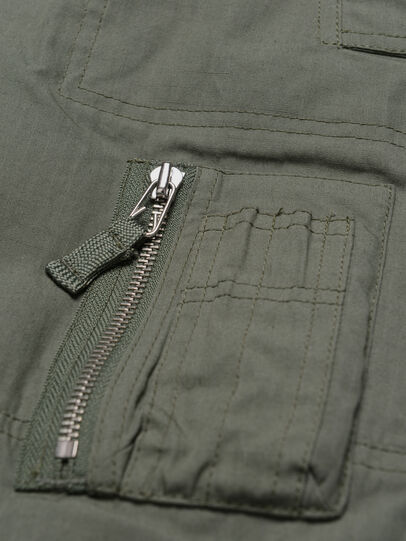 Diesel - PLEVOKI, Verde Militare - Pantaloni - Image 4