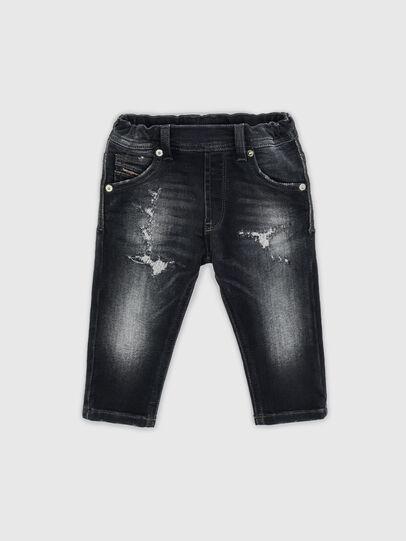 Diesel - KROOLEY-JOGGJEANS-B-N, Nero - Jeans - Image 1