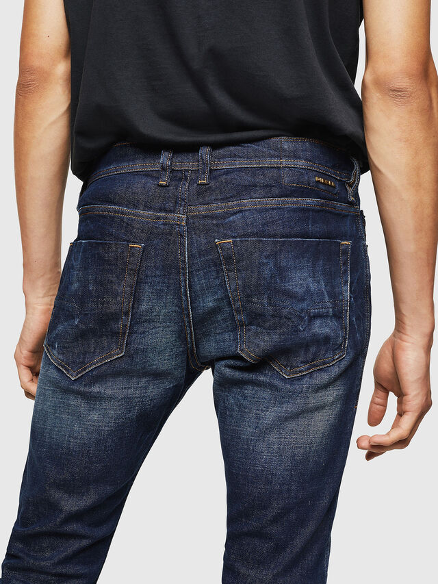 Diesel - Tepphar 087AT, Blu Scuro - Jeans - Image 4