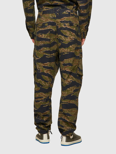 Diesel - P-BARTON, Verde Militare - Pantaloni - Image 2