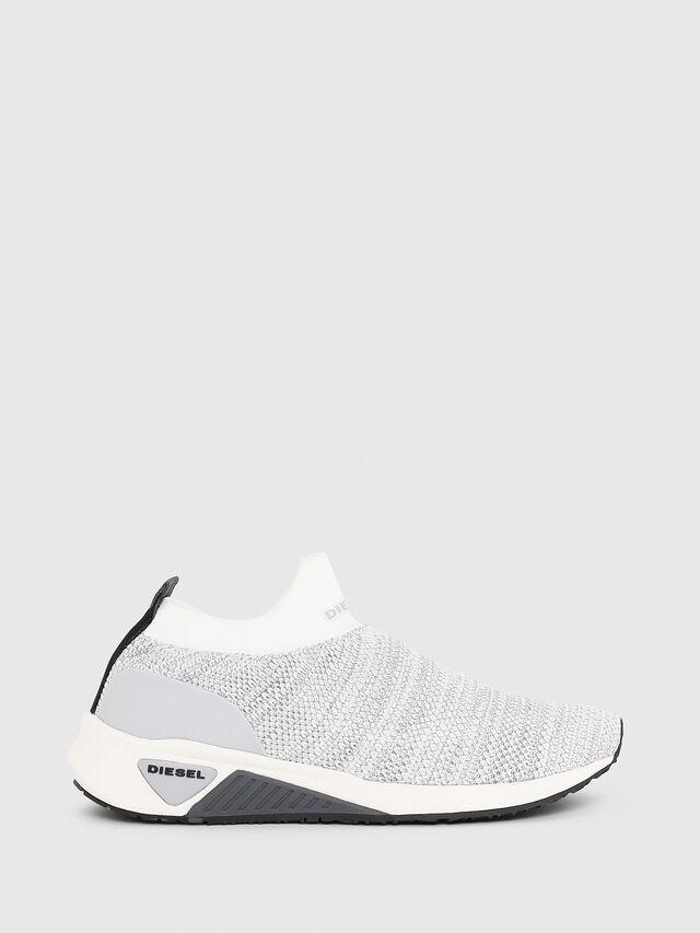 Diesel - S-KB ATHL SOCK W, Grigio Chiaro - Sneakers - Image 1