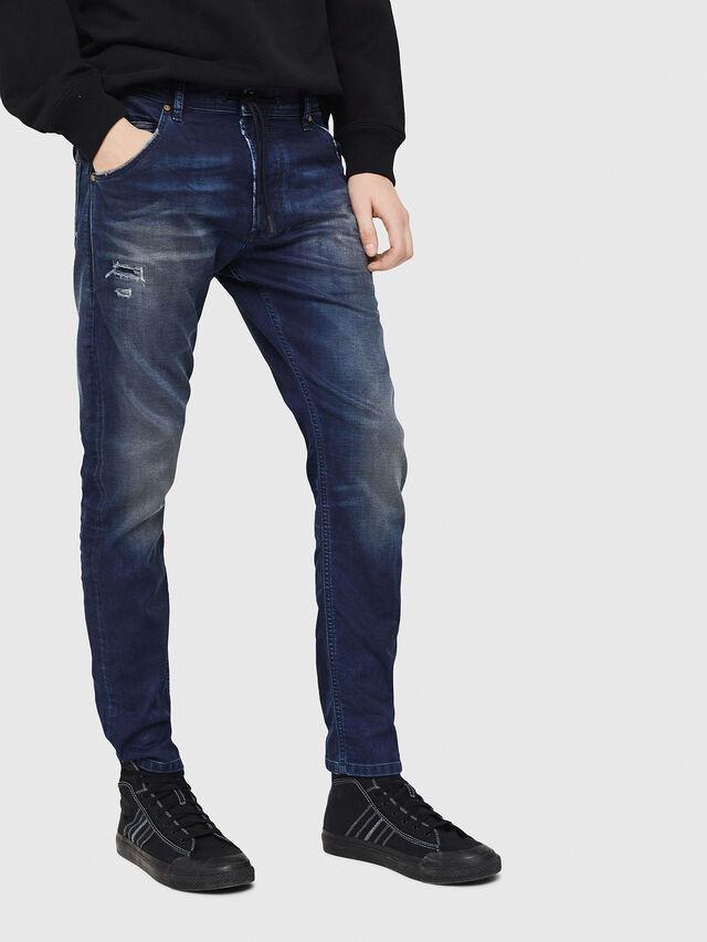 Diesel - Krooley JoggJeans 069GZ, Blu Scuro - Jeans - Image 1