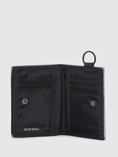 Diesel - YOSHI II, Grigio - Portafogli Piccoli - Image 3