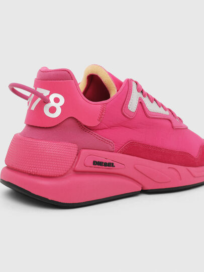 Diesel - S-SERENDIPITY LC W, Rosa Fluo - Sneakers - Image 4