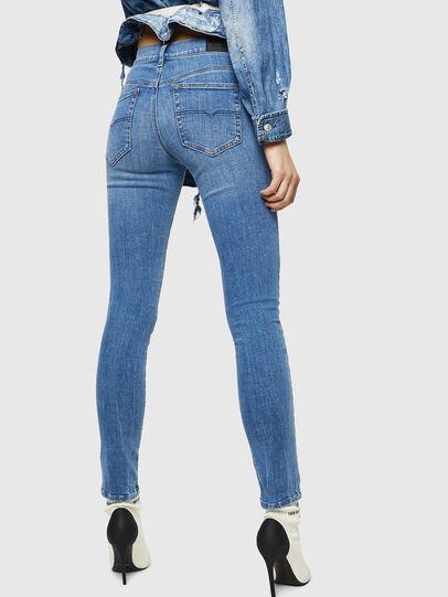 Diesel - D-Roisin 0890H, Blu Chiaro - Jeans - Image 2