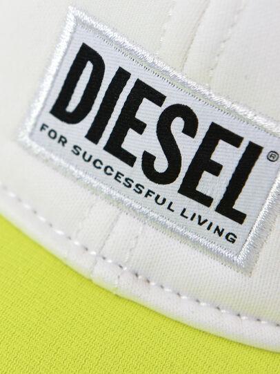 Diesel - DURBO, Bianco/Giallo - Cappelli - Image 3