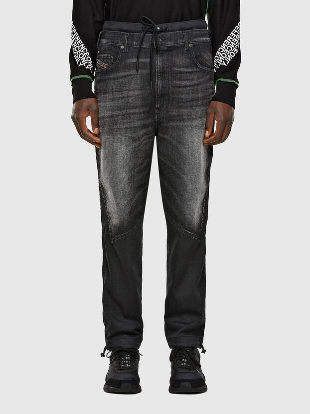 D-Skint JoggJeans 069PC, Nero/Grigio scuro - Jeans