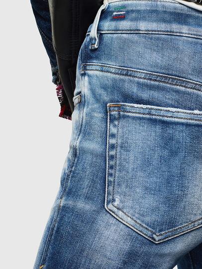 Diesel - Slandy High 0096J, Blu medio - Jeans - Image 6