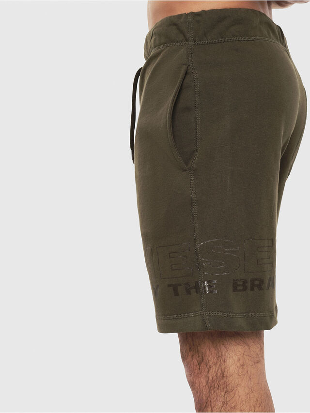 Diesel - UMLB-PAN, Verde Militare - Pantaloni - Image 3