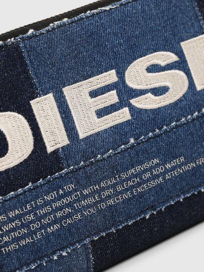 Diesel - GRANATO LC, Blu Jeans - Portafogli Con Zip - Image 3