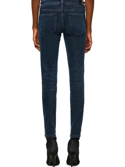 Diesel - Slandy Low 009QF, Blu Scuro - Jeans - Image 2