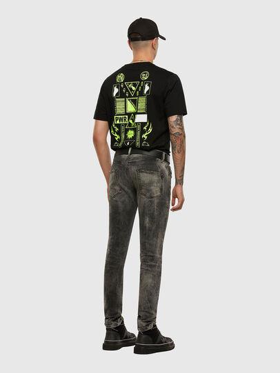 Diesel - D-Strukt 009EV, Nero/Grigio scuro - Jeans - Image 6
