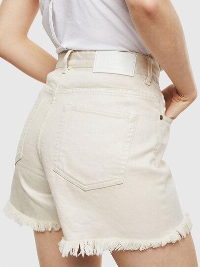 Diesel - DE-EISELLE, Bianco - Shorts - Image 2