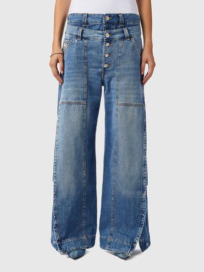 Diesel - D-Laly 0AFAM, Blu medio - Jeans - Image 1