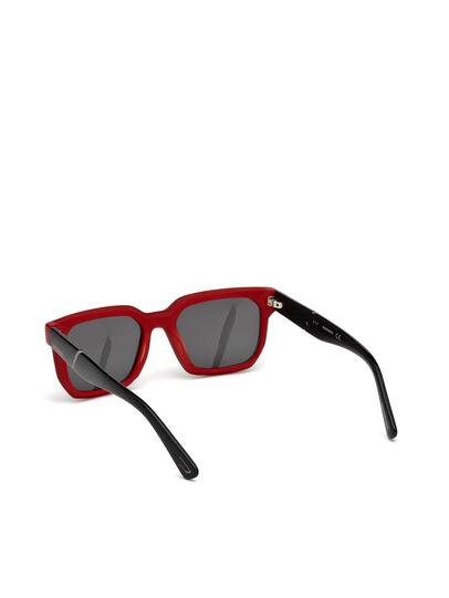 Diesel - DL0253, Nero/Rosso - Occhiali da sole - Image 2