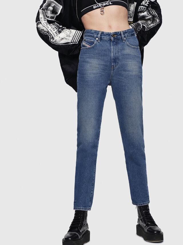 Diesel - D-Eiselle 0076X, Blu medio - Jeans - Image 1