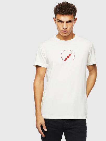 Diesel - T-DIEGO-J5, Bianco - T-Shirts - Image 1