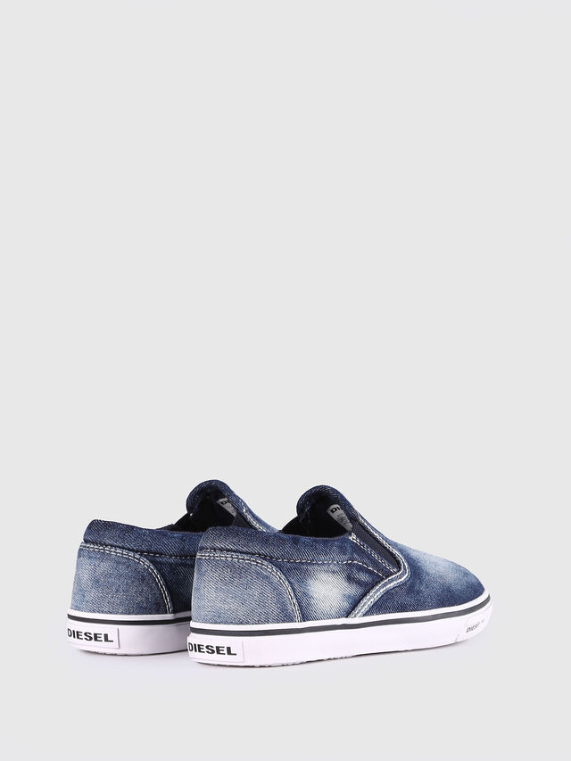 KIDS SLIP ON 21 DENIM YO, Blu Jeans - Scarpe - Image 3
