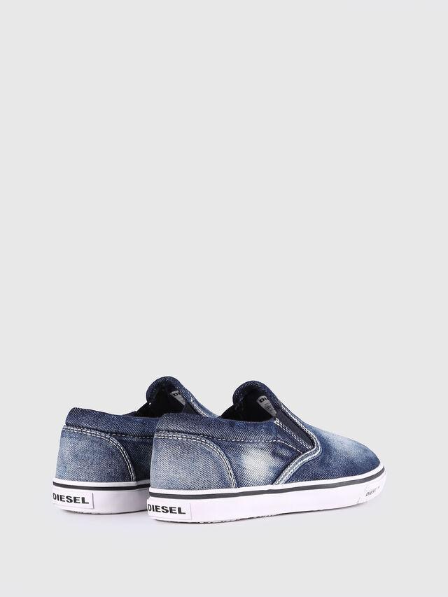 Diesel - SLIP ON 21 DENIM YO, Blu Jeans - Scarpe - Image 3
