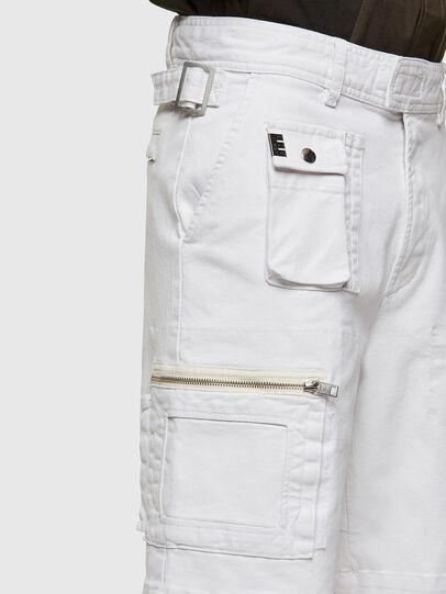 Diesel - D-CYAN-S-SP1, Bianco - Shorts - Image 3