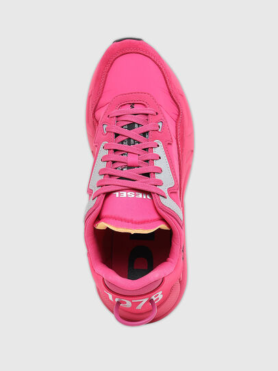 Diesel - S-SERENDIPITY LC W, Rosa Fluo - Sneakers - Image 6