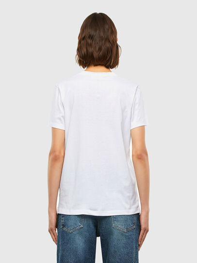Diesel - T-SILY-K4, Bianco - T-Shirts - Image 2
