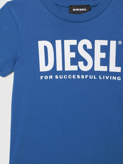 Diesel - TJUSTLOGOB-R, Blu - T-shirts e Tops - Image 3