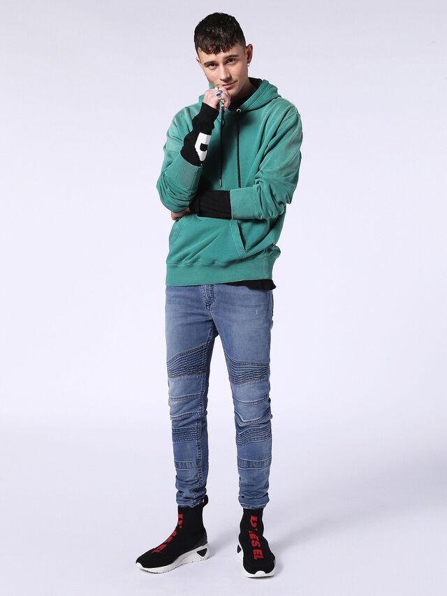 BAKARI JOGGJEANS 0688Y, Blu Jeans