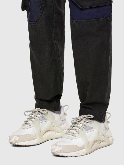 Diesel - D-Eluxerr JoggJeans® 0DDAV, Nero/Grigio scuro - Jeans - Image 5
