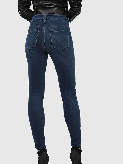 Diesel - Slandy High 084UT, Blu Scuro - Jeans - Image 2