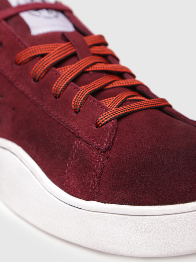 Diesel - S-CLEVER LOW, Rosso Vino - Sneakers - Image 4