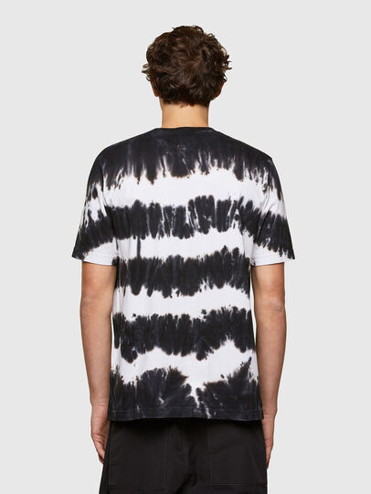 Diesel - T-JUST-A38, Nero/Bianco - T-Shirts - Image 2