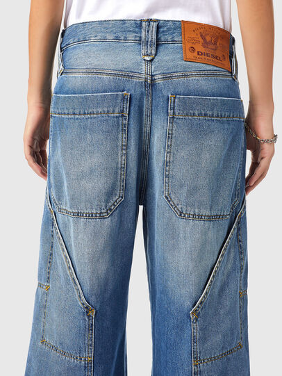 Diesel - D-Laly 0AFAM, Blu medio - Jeans - Image 4