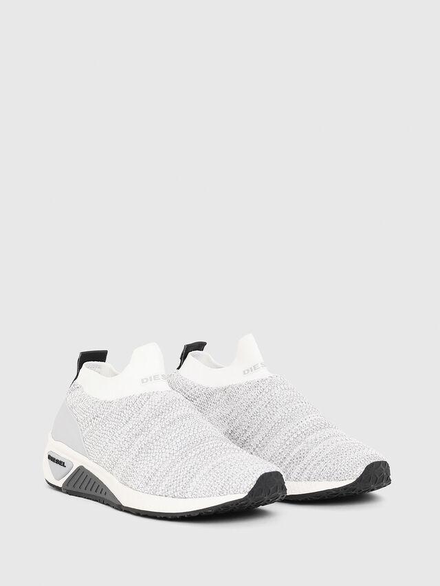 Diesel - S-KB ATHL SOCK W, Grigio Chiaro - Sneakers - Image 2