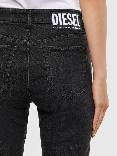 Diesel - D-Joy 009KY, Nero/Grigio scuro - Jeans - Image 6