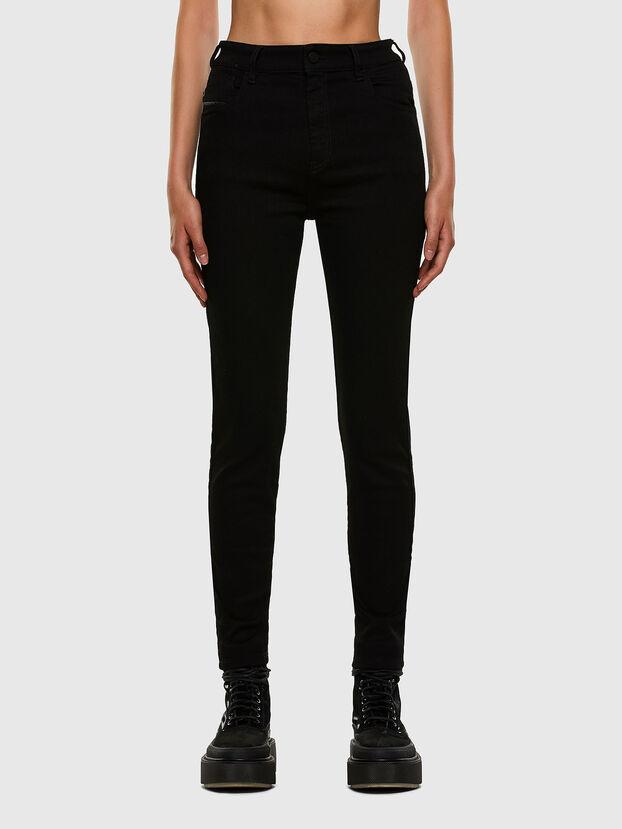 Slandy High 069EF, Nero/Grigio scuro - Jeans