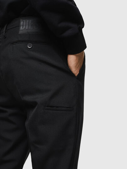 Diesel - P-JARED-WOOL, Nero - Pantaloni - Image 4