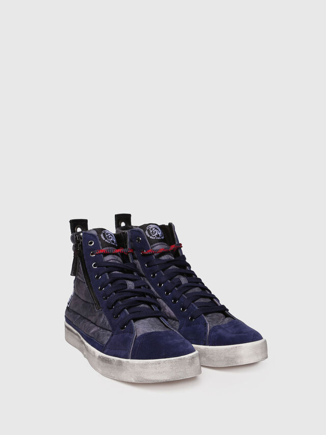 Diesel - D-VELOWS MID PATCH, Blu Scuro - Sneakers - Image 3