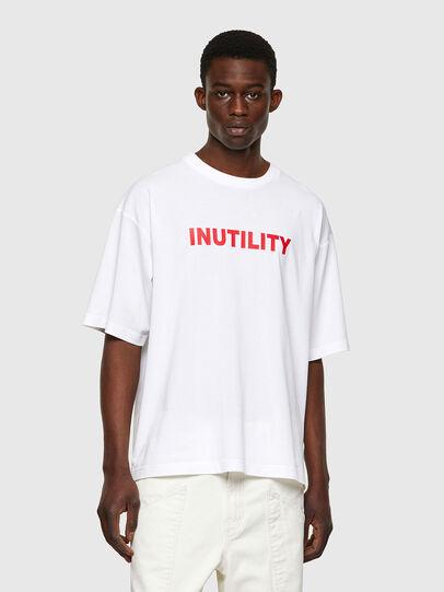 Diesel - T-BALM-B1, Bianco - T-Shirts - Image 1