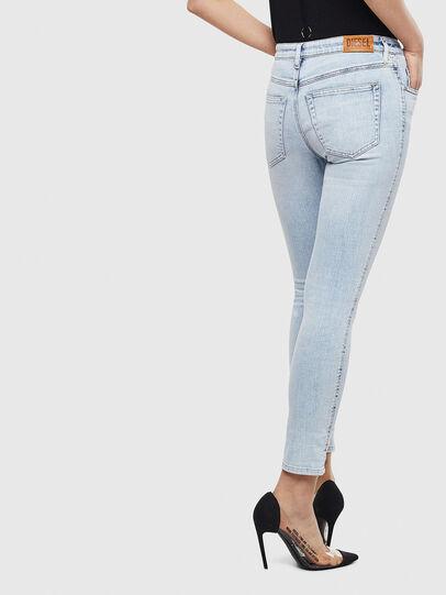 Diesel - Babhila 009AC, Blu Chiaro - Jeans - Image 2