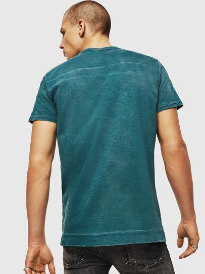 Diesel - T-DIEGO-CUT-AC, Blu Oltremare - T-Shirts - Image 2