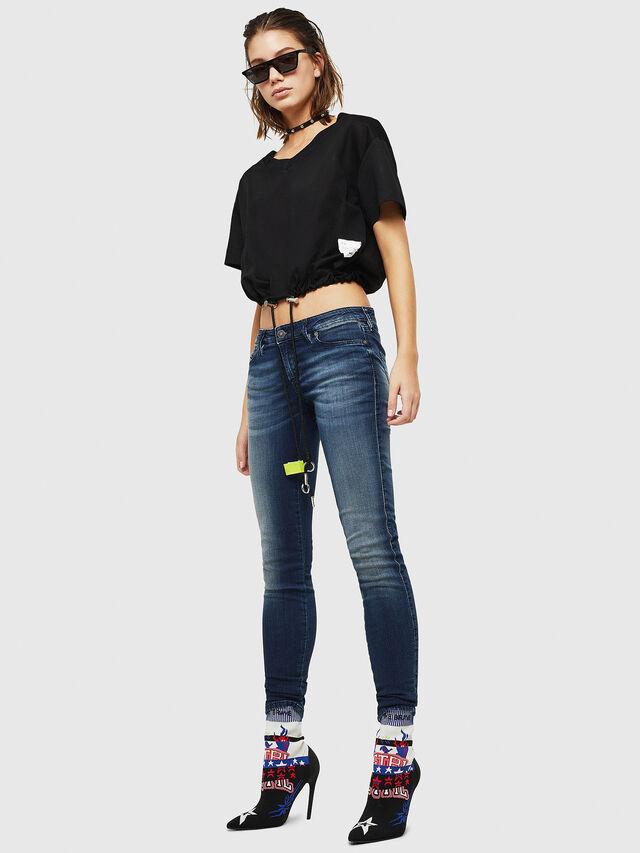 Diesel - Gracey JoggJeans 069HF, Blu Scuro - Jeans - Image 5