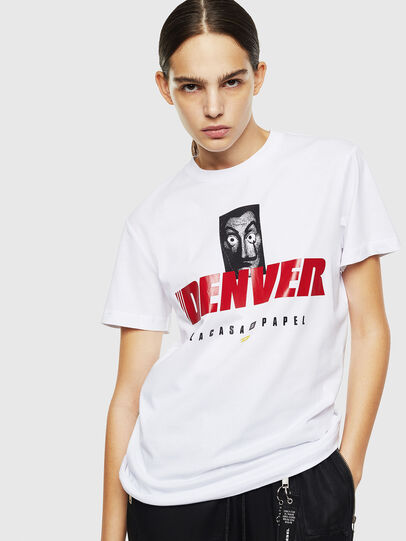 Diesel - LCP-T-DIEGO-DENVER, Bianco - T-Shirts - Image 2
