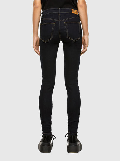 Diesel - Slandy 009CW, Blu Scuro - Jeans - Image 2
