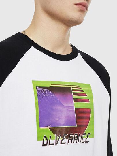 Diesel - T-RODDI, Bianco/Nero - T-Shirts - Image 3